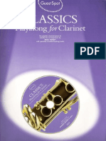 Classics - Playalong for Clarinet