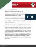 Boletín de actividades 2 de febrero de 2012