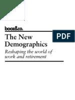 The New Demographics