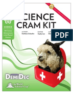 Science Cram Kit