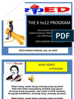 K TO 12 THE LATEST