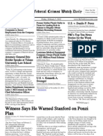 February 3, 2012 - The Federal Crimes Watch Daily