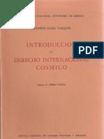 derecho internacional cosmico