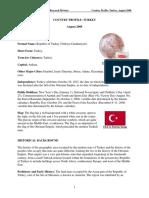 Turkey Country Profile