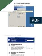 INSTALACIÓN DE UN SERVIDOR DHCP