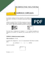 Calculos Con Complejos Con TI-83