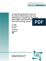 Cost and Effectiveness of Chemotherapeutic Agents in Non-Small-Cell Lung Cancer (May 2002)