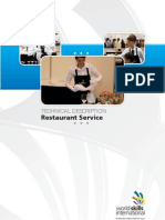 Restaurant Service - London - TD