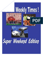 Kendall Times Super Weekend Edition