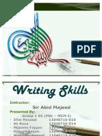 Waqas Writing Skills