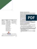 Board - PIC32 Starter Kit Information Sheet