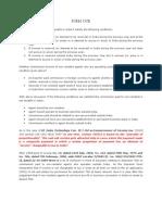 Checklist for 15CB