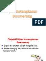 Ujian Ketangkasan Boomerang