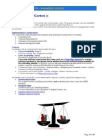 SAP PS-Availability Control