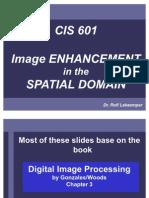 Image Enhancement Spatial