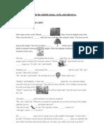 Short Story Worksheet