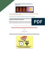 Diccionario de los Símbolos de las Razas Extraterrestres, Dras. Victoria V. Popova y Lidia V. Andrianova. VERSION COMPILACION TEXTUAL DE VIDEOS.
