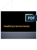 Copy of Healthcare Service Sector