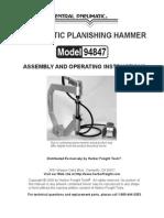 94847 Planishing Hammer Lg