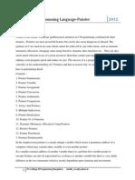 C Programming Language-Pointers