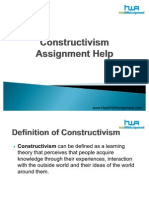 Constructivism Assignment Help
