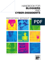 Handbook for Bloggers and Cyber-Dissidents 2915536368