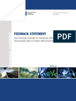 IAASB Feedback Statement-Nature of Financial Reporting