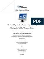 Cloud Computing - Data Security & Privacy