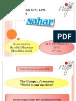 Nahar Presentation