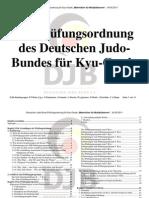 Multiplikatorenskript Kyu-Pruefungsprogramm DJB2011