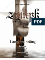 Zymph Campaign Setting 2nd Edition