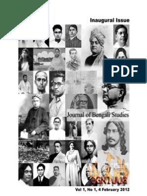 JournalofBengaliStudiesv1n1 | Nationalism | Historian
