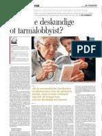 De_Standaard_-_Moderne_deskundige_of_farmalobbyist_12-01-12