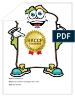 HACCP Project