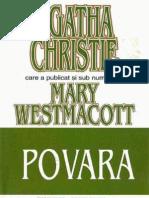 Agatha Christie- Povara
