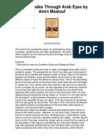 The Crusades Through Arab Eyes by Amin Maalouf - Exciting and Edifying
