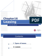 IFRS Chapter 16 Leasing