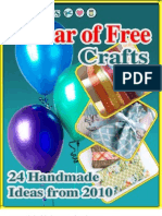 24 Handmade Craft Ideas From 2010 eBook