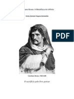 Giordano Bruno, a metafísica do infinito