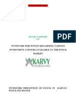 Investors Perception Indian Stock Market 120102040143 Phpapp01 (1)