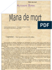 Alexandre Dumas- Mană de mort