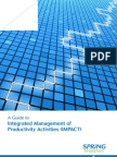Guidebook Integrated Management of Productivity Activities IMPACT