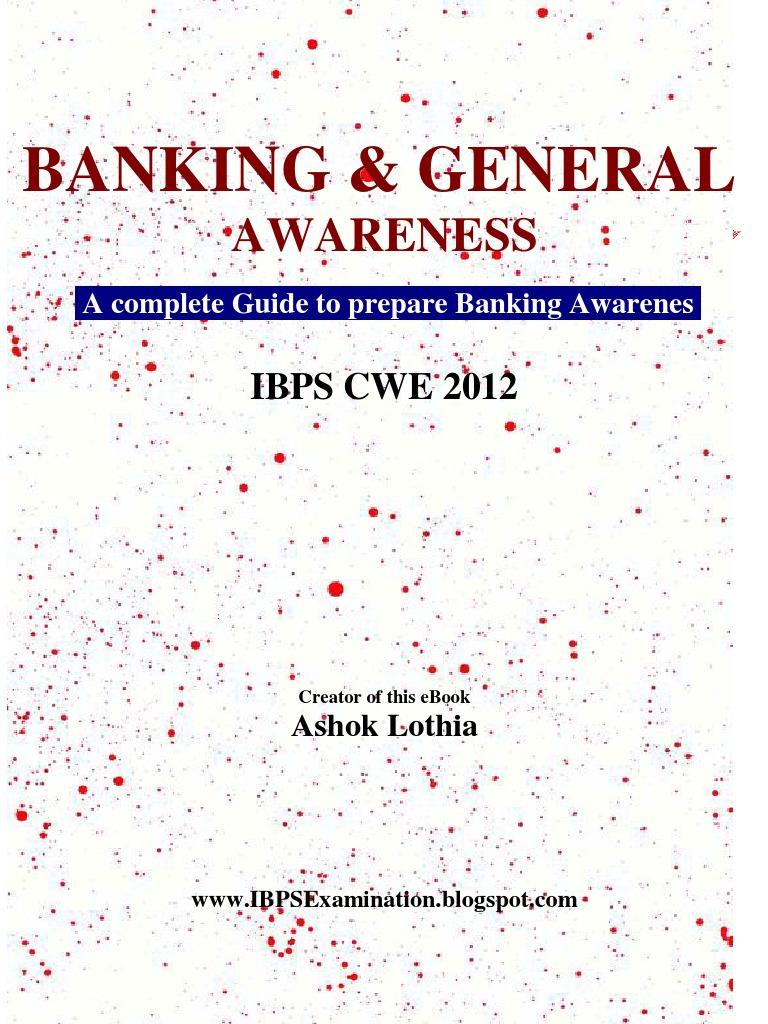 Banking awareness ebook banks interest fandeluxe Choice Image