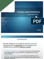 Tema 7 - Trámites administrativos