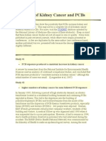 Studies of Kidney Cancer and PCBs