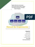 Nuevooo ModificacionTrabajo Manual de Organizacion