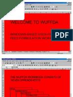 WUFFDA Rabbit Tutorial English