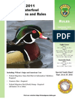 ID 2011 Waterfowl Hunting Rules