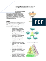 Modelos de arquitecturas técnicas