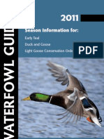 2011 NE Waterfowl Hunting Guide